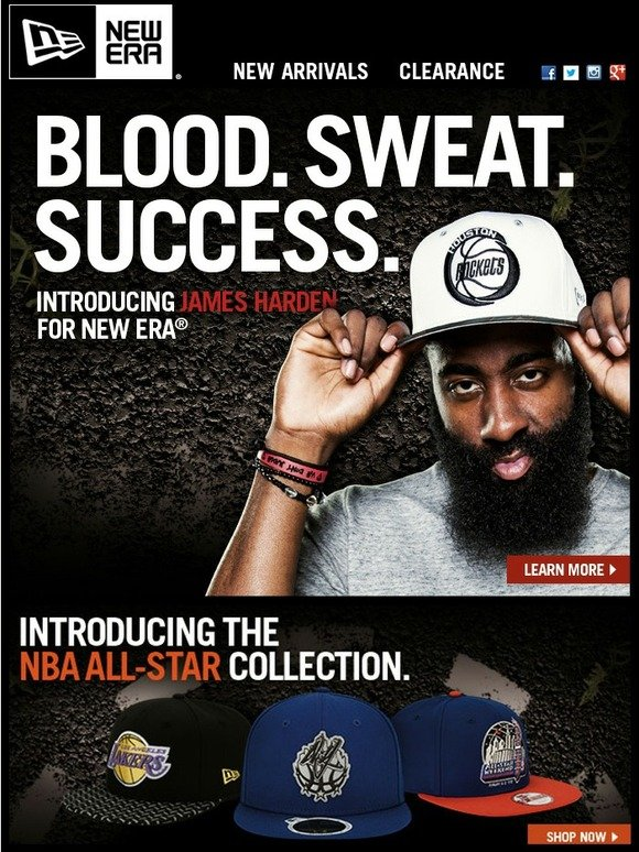 James Harden in as for New Era