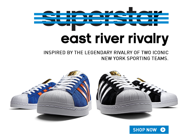 adidas superstar east river nere