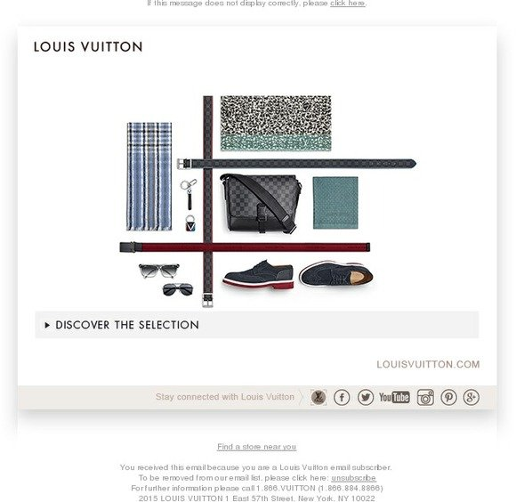 Louis Vuitton: Spring 2015 Men's Business And Casual