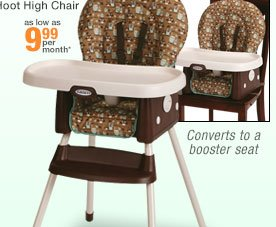 Graco SimpleSwitch Little Hoot High Chair