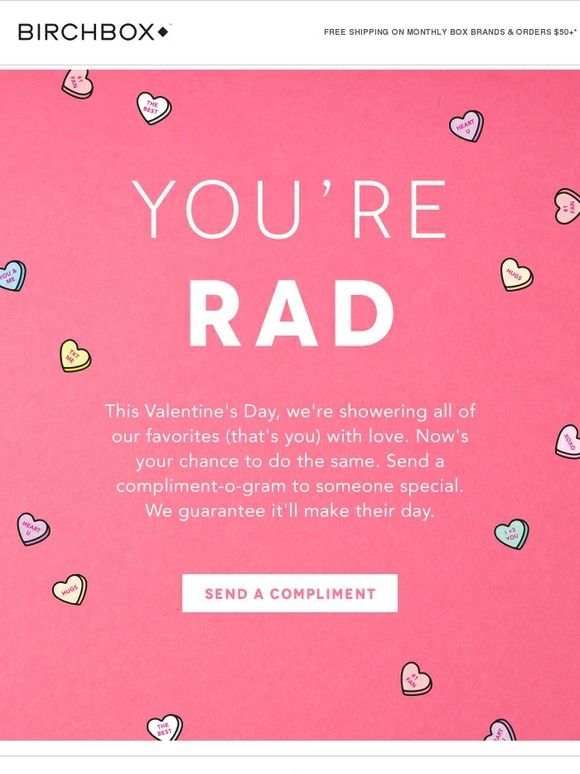 Birchbox: Send a Compliment, Make Someone's Day | Milled