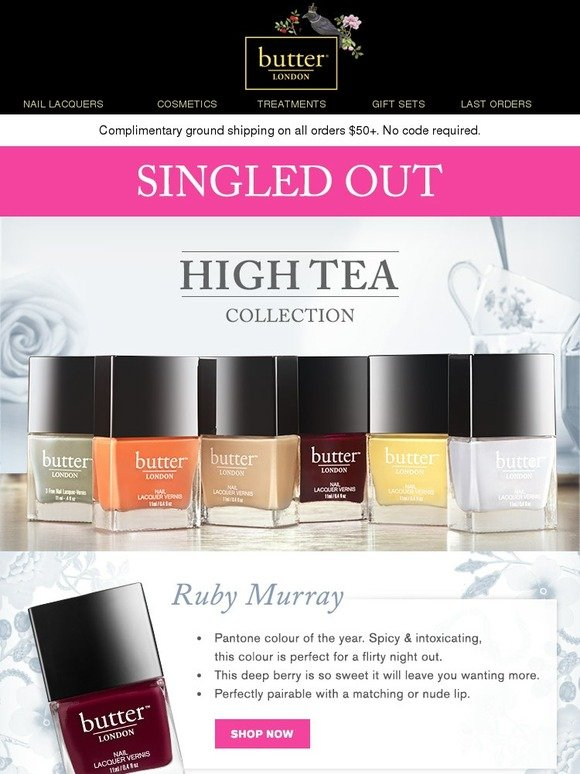 Butter London: Singled Out - Meet Our Lacquers! | Milled