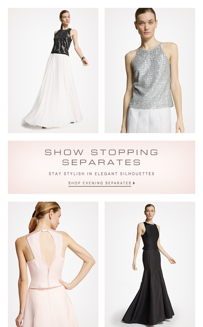 Halston: Introducing Evening Separates | Milled