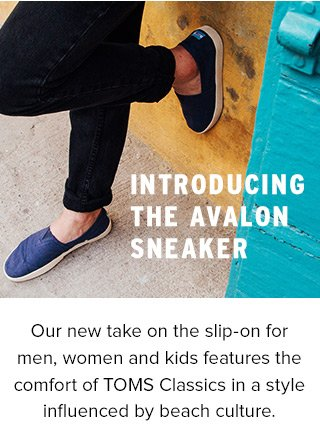 be533f99540 TOMS  Meet the new TOMS Avalon Sneaker