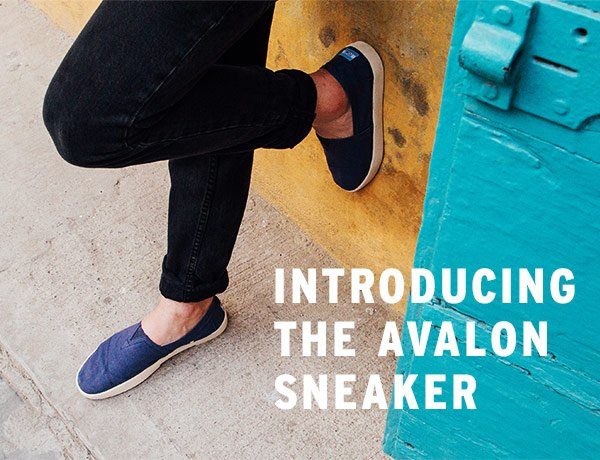 TOMS: Meet the new TOMS Avalon Sneaker