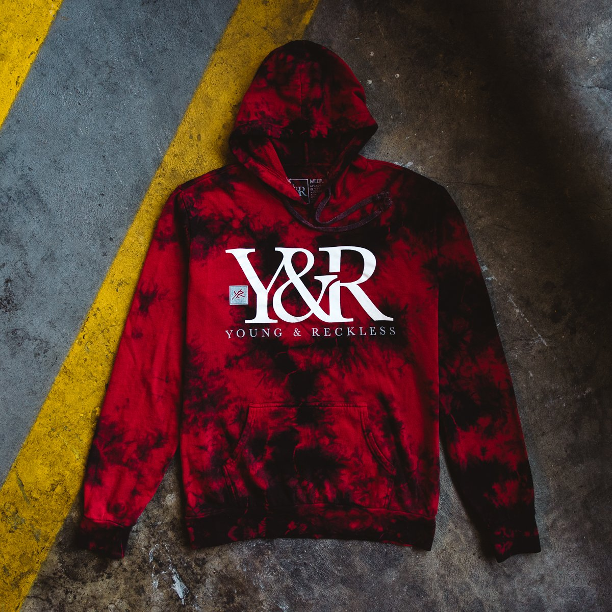 Young & Reckless: Red Acid Hoodie - RESTOCK! | Milled