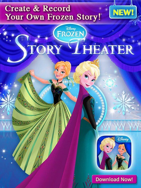 Disney Cruise Line: NEW Frozen App! Download Frozen: Story