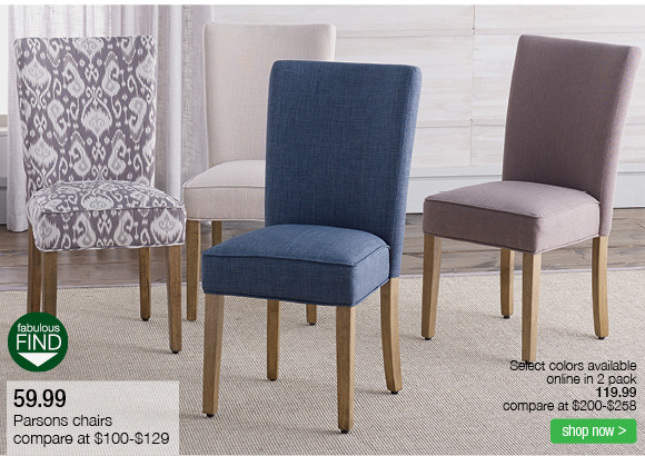 Superior 59.99 Parson Chairs Shop Now