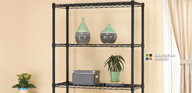 1 Sale A Day: 5 Shelf Storage Rack $48   SWAT Flashlight $12   Calvin Klein  Cologne $22   Bluetooth Headphones $19   Floral Glass Table $29   Camera ...