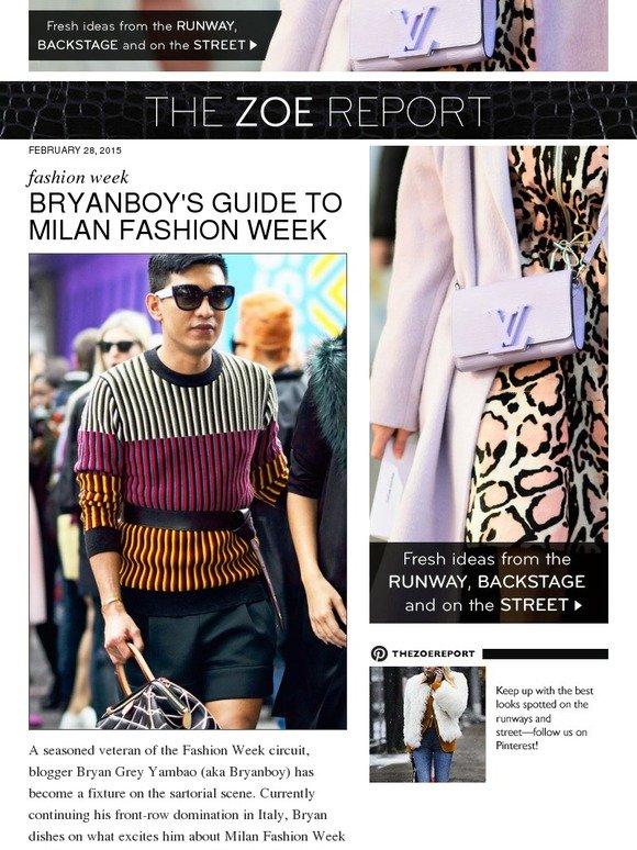 18786433b895 The Zoe Report  Go Inside Milan Fashion Week