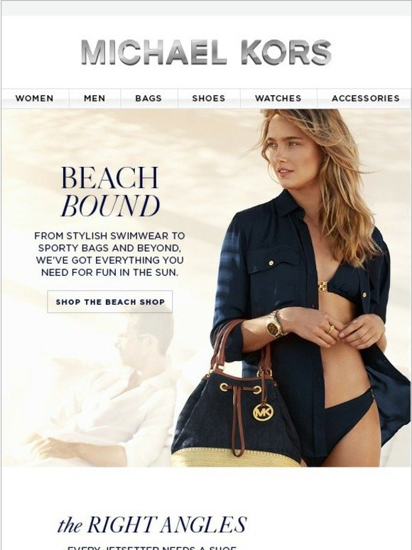 Michael Kors Beach Chic Essentials You Need Now Sale