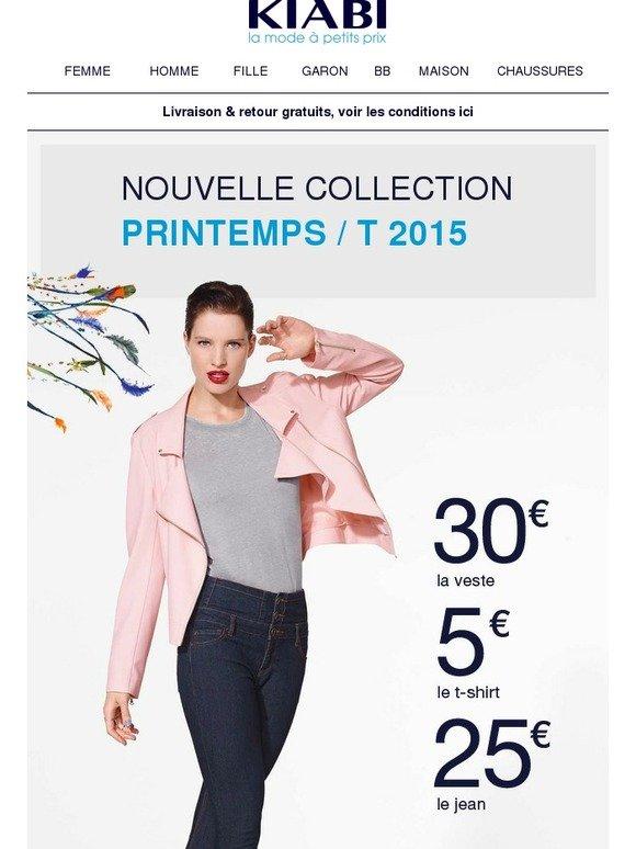 Ici Ici Pour Kiabi Par Toutes Femme Femme Femme Mode Les Nouveautés Milled w0RxHRTOq