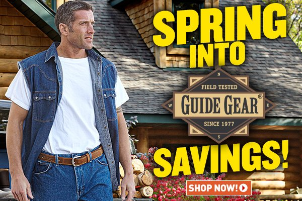 The Sportsman's Guide: Spring Savings on Guide Gear! | Milled