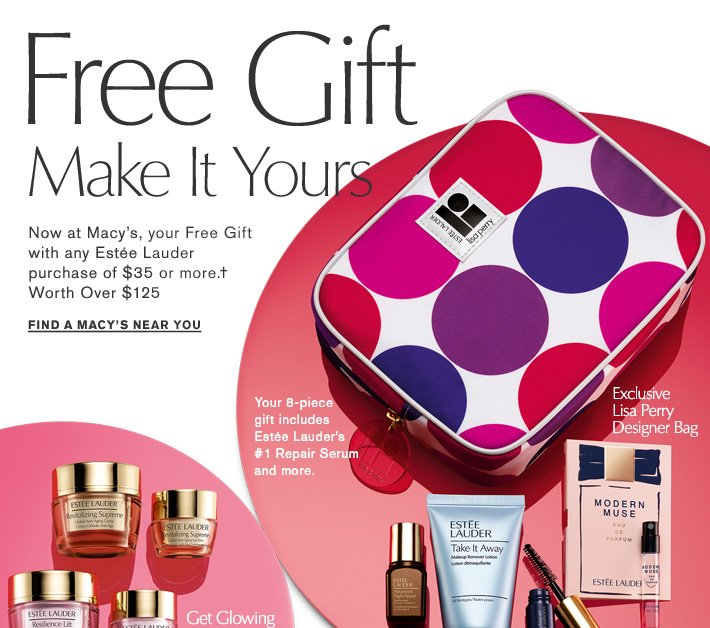 Estée Lauder: Now at Macy's: Free Gift Make It Yours. | Milled