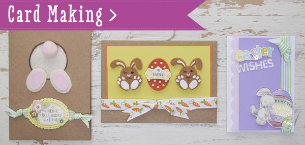 Hobbycraft Get Making with the Kids this Easter – Easter Card Making Kits