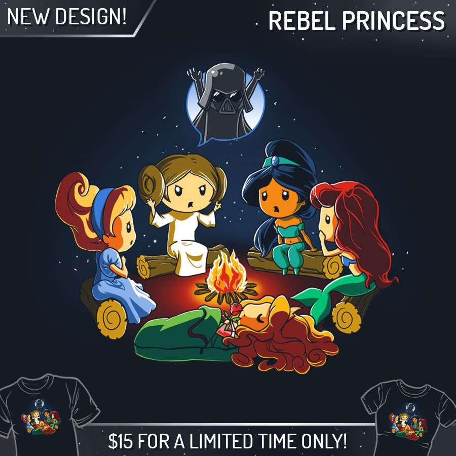 Feb 17 2015 Rebel Fitness Squamish: TeeTurtle: The SCARIEST (princess) Campfire Story EVER