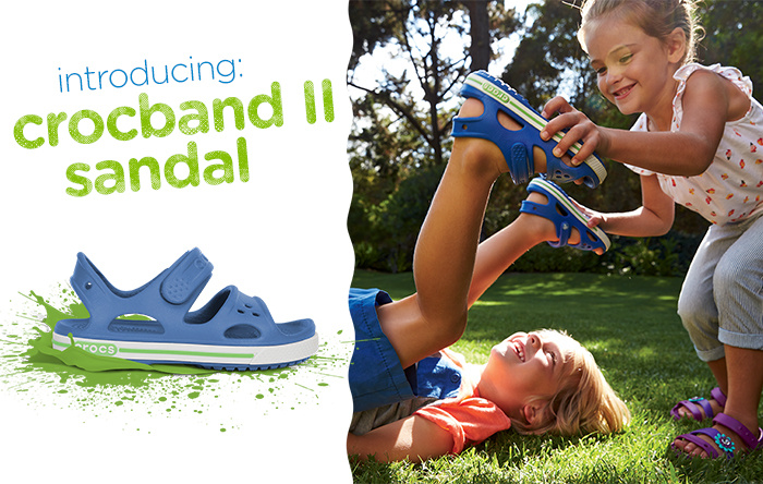 Crocs: Introducing: Crocband II Sandal