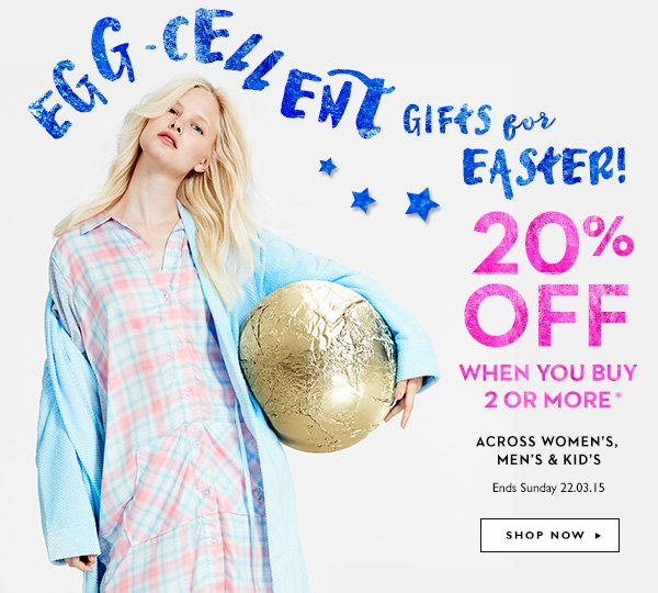 Peter alexander egg cellent gift ideas for easter free delivery egg cellent gifts for easter 20 off when you buy 2 or more negle Gallery