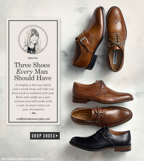 The 5 Shoes Every Man Should Own   Bespoke Post