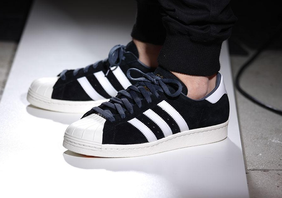 adidas Grade School Superstar (White Black) KicksUSA