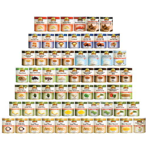 3-Month 2-Person Emergency Food Kit