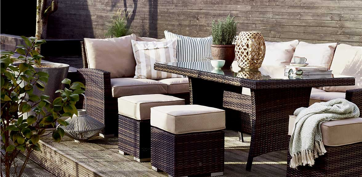 la kingston corner dining set - Garden Furniture Ireland