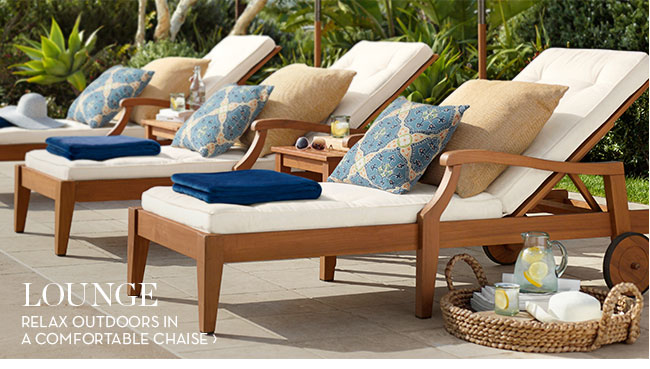 Pottery Barn Sunny Savings 20 Off All Outdoor Furniture