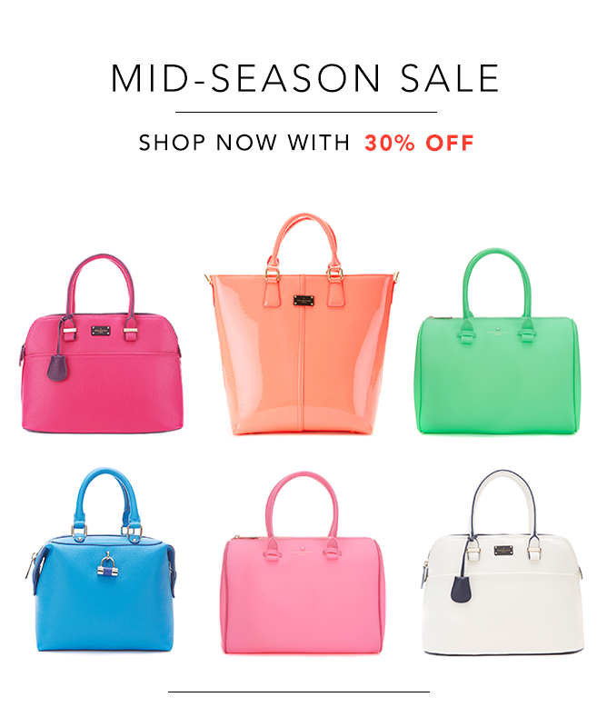 Sale bags with 30% off