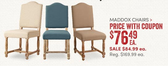 Maddox Chairs
