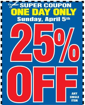 Harbor Freight Easter Weekend 3 Day Sale Starts Friday Milled