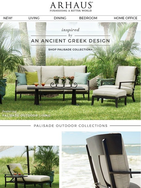 Brilliant Arhaus Introducing The Palisade Outdoor Collection Milled Forskolin Free Trial Chair Design Images Forskolin Free Trialorg