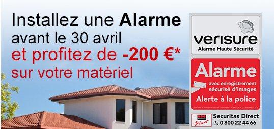 Promovacances monsieur protegez votre domicile 24h 24 for Alarme maison securitas avis