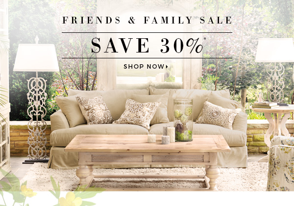 30% Off   Shop The Friends U0026 Family Sale