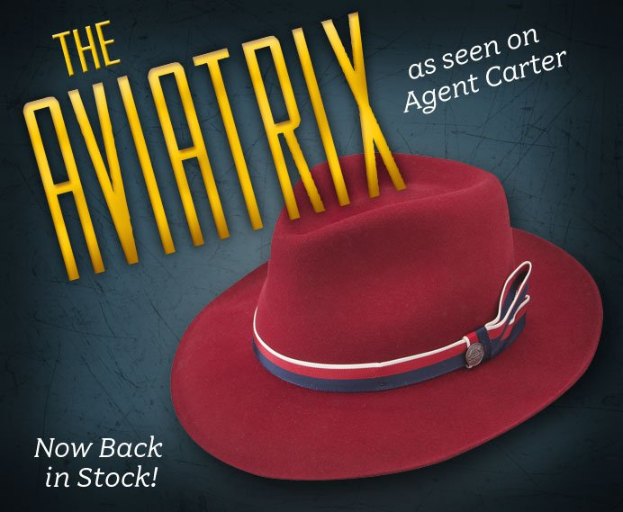 4feff39d STETSON: The Aviatrix Hat - Now Back in Stock! | Milled