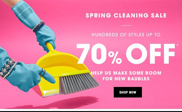 BaubleBar: Get Personal(ized) + Spring Cleaning Sale | Milled