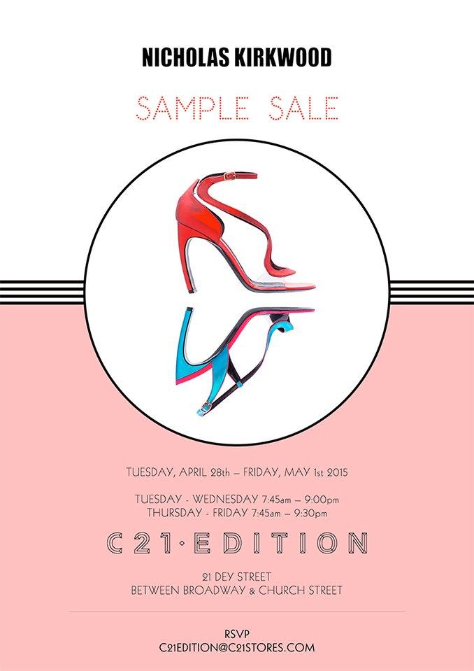 Century21: EXTENDED – Nicholas Kirkwood Sample Sale | Milled