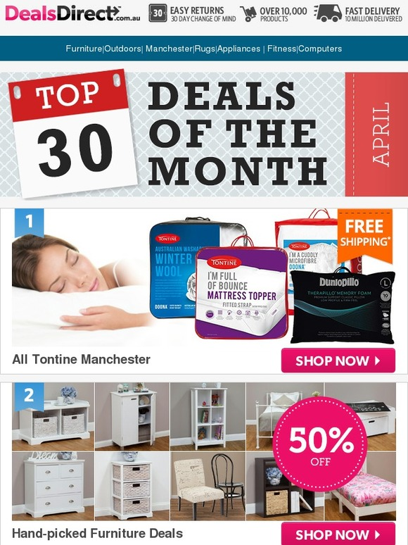DealsDirect: Month End Madness CLEARANCE Edition; there s ...