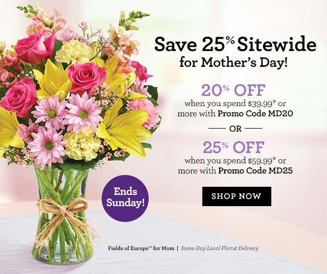 1800 flowers mother's day coupons