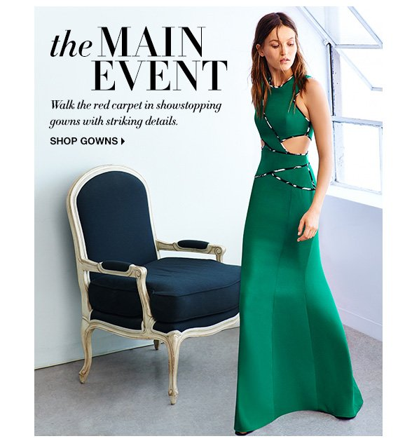 BCBG: Main Event. Shop the season?s showstopping gowns | Milled