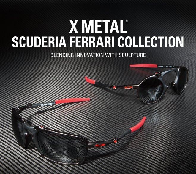 8c3bfab5f1 Oakley Vault  X METAL® Scuderia Ferrari Collection