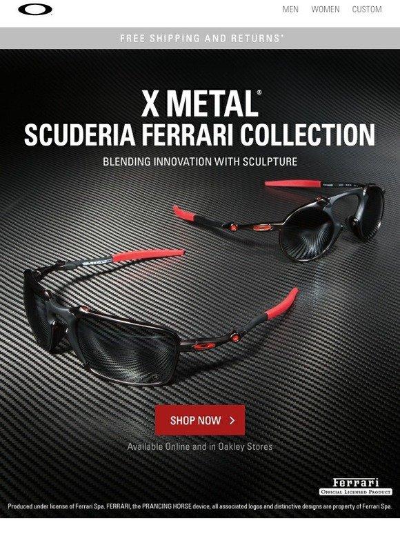 6e514d7e678 Oakley Vault  X METAL® Scuderia Ferrari Collection