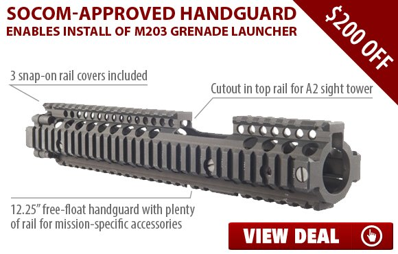 Brownells: Get $200 Off SOCOM-Approved M4A1 Handguard