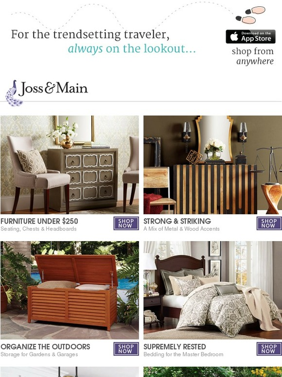 Joss Main Savings Furniture Under 250 Strength Wood Metal Accents Simplicity Garage