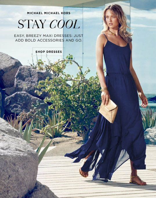 Michael Kors Maxi Dresses For Maximum Impact Milled