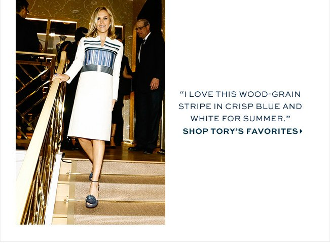 Tory burch the palette blue and white milled for 11 west 19th street 7th floor new york ny 10011