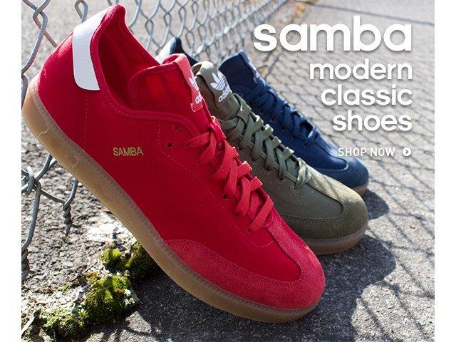 samba modern classic adidas