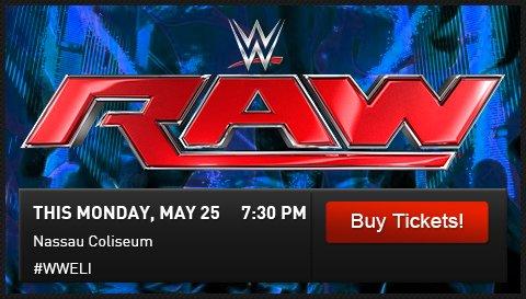 WWE Shop: This Monday: WWE Returns to Nassau Coliseum ...