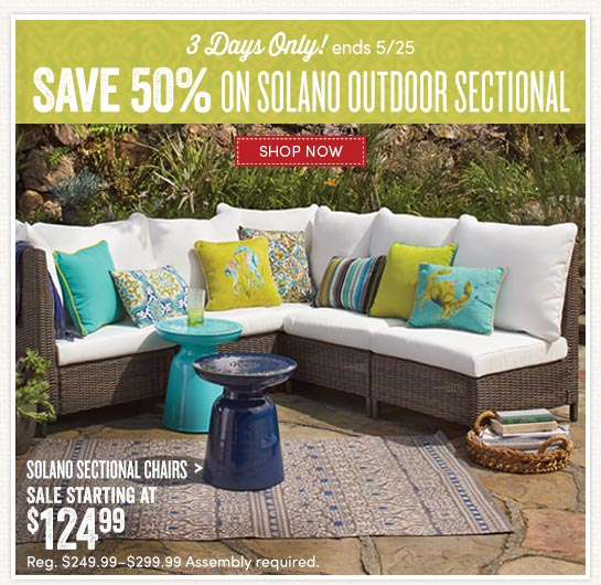 Living Room 50 Off Food cost plus world market: 3 days only. 50% off solano outdoor