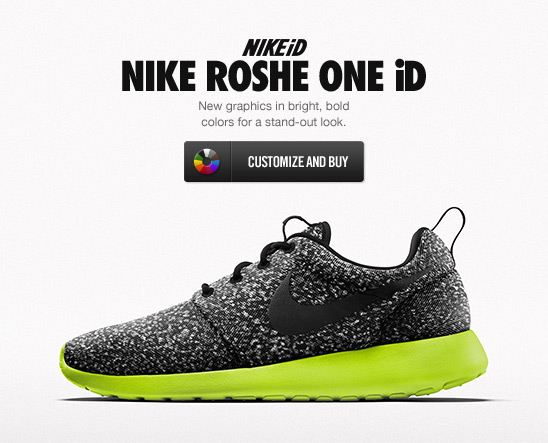 NIKEiD NIKE ROSHE ONE iD | CUSTOMIZE AND BUY