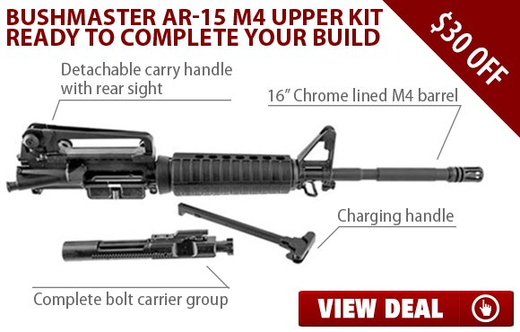 Brownells: Save $30 on AR-15 Complete Upper Receiver! | Milled